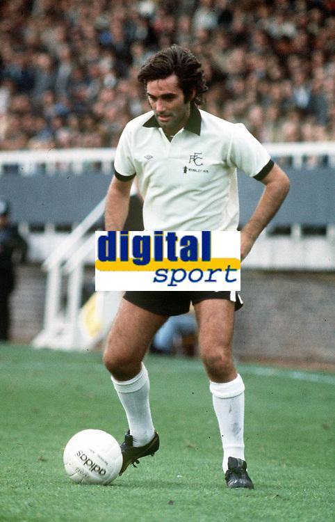 Fotball<br /> Foto: Colorsport/Digitalsport<br /> NORWAY ONLY<br /> <br /> Georg Best - døde i dag 25.11.2005<br /> <br /> GEORGE BEST (FULHAM 1977/8)