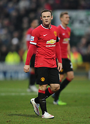 Manchester United's Wayne Rooney  - Photo mandatory by-line: Joe meredith/JMP - Mobile: 07966 386802 - 04/01/2015 - SPORT - football - Yeovil - Huish Park - Yeovil Town v Manchester United - FA Cup - Third Round