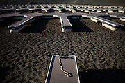 FOLSOM, CA - JANUARY 15, 2014: The Folsom Lake Marina sits on dry lakebed as the Folsom Lake reservoir drops to 18% capacity as an unseasonably dry winter in California stokes fears of a severe drought. CREDIT: Max Whittaker for The New York Times