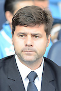 Tottenham Hotspur Manager Mauricio Pochettino during the Barclays Premier League match between Tottenham Hotspur and Crystal Palace at White Hart Lane, London, England on 20 September 2015. Photo by Alan Franklin.