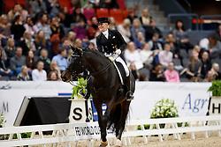 Von Bredow-Werndl Jessica, GER, Unee BB<br /> Gothenburg Horse Show FEI World Cups 2017<br /> © Hippo Foto - Stefan Lafrentz<br /> 24/02/17