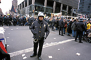 Stop The War demonstration NY February 2003