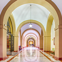 Corridor, University of Seville (former Royal Tobacco Factory, 18th century).