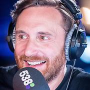 NLD/Amsterdam/20171019 - Prijsuitreiking en mini concert David Guetta, David