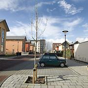 Nederland Barendrecht 12 november 2007  ..Slechte groenvoorziening vinexwijk Carnisse, nieuwbouw wijk ten zuiden van Rotterdam ..foto David Rozing