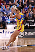 Joline Henry in action for the Pulse.<br /> ANZ Championship - Steel v Pulse, 28 May 2012, The Edgar Centre, Dunedin, New Zealand.<br /> Photo: Rob Jefferies / photosport.co.nz