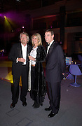 Sir Richard Branson, Prince Andrew, Fundraising party with airline theme in aid of the Old Vic and to celebrate the appointment of Kevin Spacey as artistic director.  <br />Old Billinsgate Market.  5 February 2003. © Copyright Photograph by Dafydd Jones 66 Stockwell Park Rd. London SW9 0DA Tel 020 7733 0108 www.dafjones.com