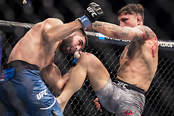 September 16, 2017 - Pittsburgh, Pennsylvania, USA - September 16, 2017: Gregor Gillespie defeats Jason Gonzalez during UFC Fight Night at PPG Paints Arena in Pittsburgh, Pennsylvania. (Credit Image: © Scott Taetsch via ZUMA Wire)
