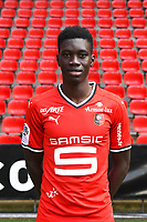 Ismaila Sarr during photoshooting of Stade Rennais for new season 2017/2018 on September 19, 2017 in Rennes, France. (Photo by Philippe Le Brech/Icon Sport)