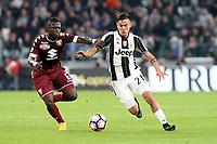 06.05.2017 - Torino - Serie A 2016/17 - 35a giornata  -  Juventus-Torino nella  foto: Paulo Dybala