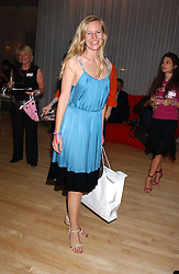 ALANNAH WESTON  at party in aid of cancer charity Clic Sargent held at the Sanderson Hotel, Berners Street, London on 4th July 2005.<br />
