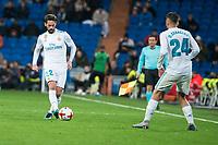 Real Madrid Fernando Alarcon 'Isco' and Dani Ceballos during King's Cup match between Real Madrid and CD Numancia at Santiago Bernabeu Stadium in Madrid, Spain. January 10, 2018. (ALTERPHOTOS/Borja B.Hojas)