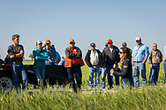 North Central Research Center at Lahoma Ok annual spring field day and tour. Wheat, Canola, weeds and soil were featured on the tours.