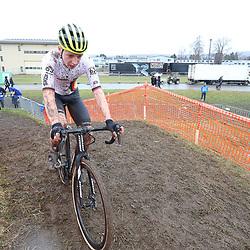 01-02-2020: Wielrennen: WK Veldrijden: Dubendorf <br /> Luca Harter