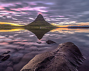 Kirkjufell is a popular photo location in west-Iceland.
