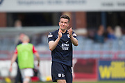 4th May 2019, Dens Park, Dundee, Scotland; Ladbrokes Premiership football, Dundee versus Hamilton Academical; Cammy Kerr of Dundee in tears after Dundee are relegated from the Ladbrokes SPFL Premiership