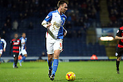 Chris Brown during the Sky Bet Championship match between Blackburn Rovers and Queens Park Rangers at Ewood Park, Blackburn, England on 12 January 2016. Photo by Pete Burns.