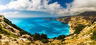 Stunning view of Kefalanian coastline