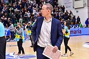 Vincent Collet<br /> Banco di Sardegna Dinamo Sassari - Sig Strasbourg<br /> FIBA Basketball Champions League BCL 2019-2020<br /> Sassari, 13/11/2019<br /> Foto L.Canu / Ciamillo-Castoria