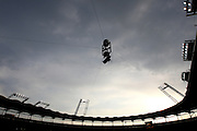 The overhead camera. Toulouse v Castres, Top 14, Demi-Finale, Stade Municipal, Toulouse, France, June 2nd 2012