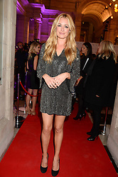 CAT DEELEY at the WGSN Global Fashion Awards held at the V&A museum, London on 30th October 2013.
