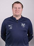 FODBOLD: Jesper Lindehøj Jensen ved Ølstykke FC's officielle fotosession den 27. marts 2018 på Ølstykke Stadion. Foto: Claus Birch