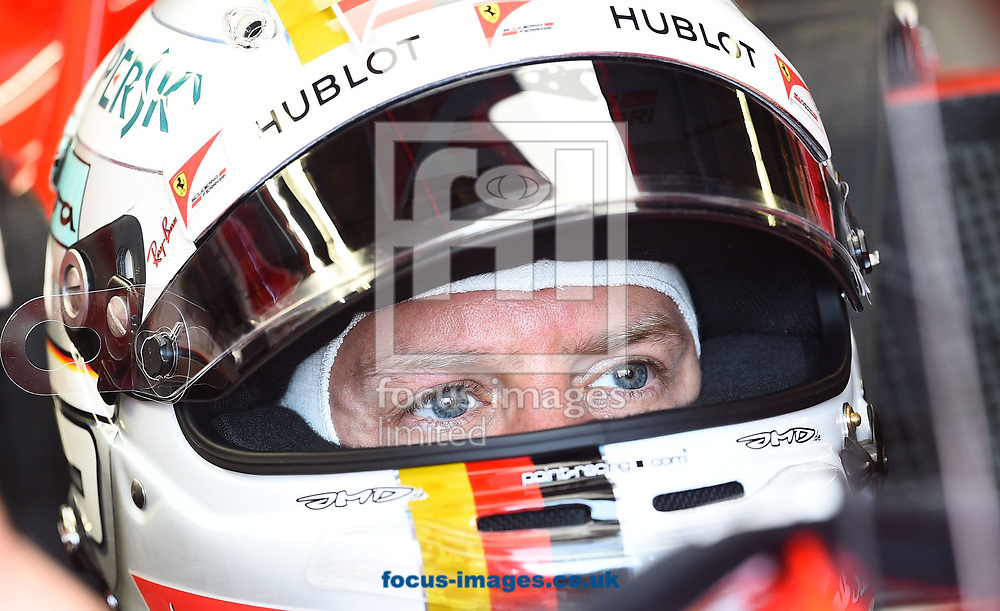 Sebastian Vettel of Scuderia Ferrari during the practice session of the Canadian Formula One Grand Prix at the Circuit Gilles Villeneuve, Montreal<br /> Picture by EXPA Pictures/Focus Images Ltd 07814482222<br /> 09/06/2017<br /> *** UK &amp; IRELAND ONLY ***<br /> <br /> EXPA-EIB-170609-0287.jpg
