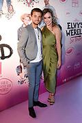 Première comedy Elvy's Wereld: So Ibiza! in Pathe Tushinski, Amsterdam.<br /> <br /> Op de foto:  Buddy Vedder met zijn vriendin Ginny