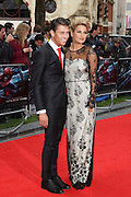 18.JUNE.2012. LONDON<br /> <br /> JOEY ESSEX AND SAM FAIERS ATTEND THE UK FILM PREMIERE OF THE AMAZING SPIDERMAN AT THE ODEON CINEMA, LEICESTER SQUARE.<br /> <br /> BYLINE: EDBIMAGEARCHIVE.CO.UK<br /> <br /> *THIS IMAGE IS STRICTLY FOR UK NEWSPAPERS AND MAGAZINES ONLY*<br /> *FOR WORLD WIDE SALES AND WEB USE PLEASE CONTACT EDBIMAGEARCHIVE - 0208 954 5968*