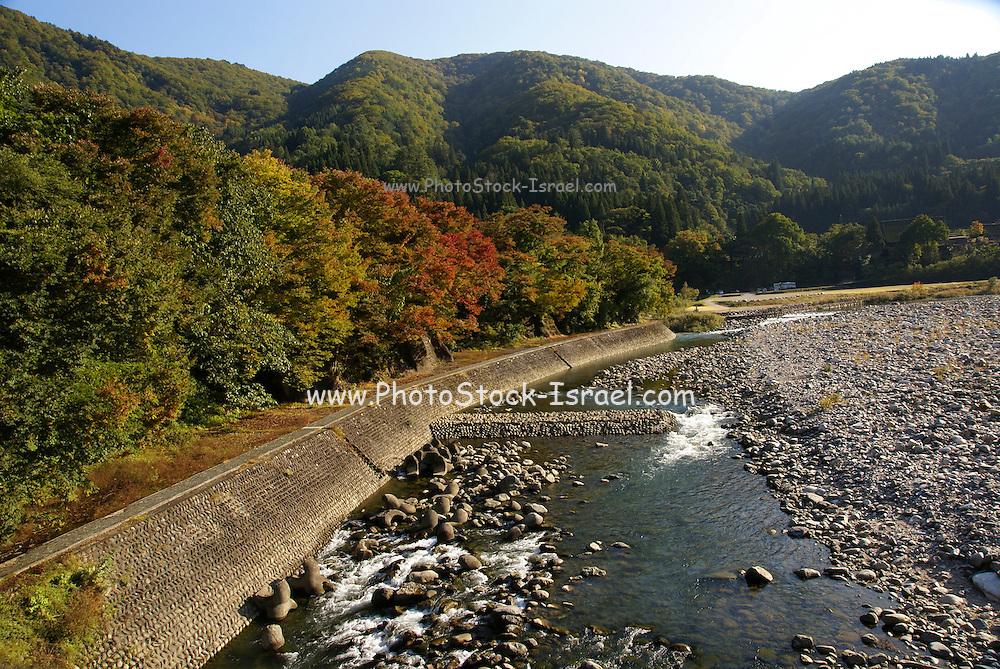 Historic Villages of Shirakawa-go and Gokayama UNESCO site in Japan