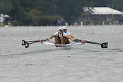 2005 FISA World Cup, Rotsee, Lucerne, SWITZERLAND, 08.07.2005 NZL W2X Left Caroline and Georgina Evers Swindell, move away from the start in their open heat of he women's double sculls, on the opening day of the final round of the 2005 FISA Rowing World Cup..© Peter Spurrier.  email images@intersport-images..[Mandatory Credit Peter Spurrier/ Intersport Images] Rowing Course, Lake Rottsee, Lucerne, SWITZERLAND.
