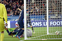 But de David LUIZ  - 04.03.2015 - PSG / Monaco - 1/4Finale Coupe de France<br />