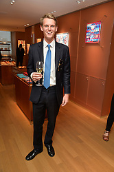 DAVID TOLLEMACHE at a party to celebrate the launch of Le Jardin de Monsieur Li by Hermes in association with Mr Fogg's was held at Hermes, 155 New Bond Street, London on 9th July 2015.