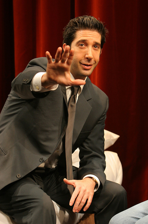 "David Schwimmer in ""Some Girl(s)"" by Neil Labute at the Gielgud theatre in Shaftesbury Avenue, London."