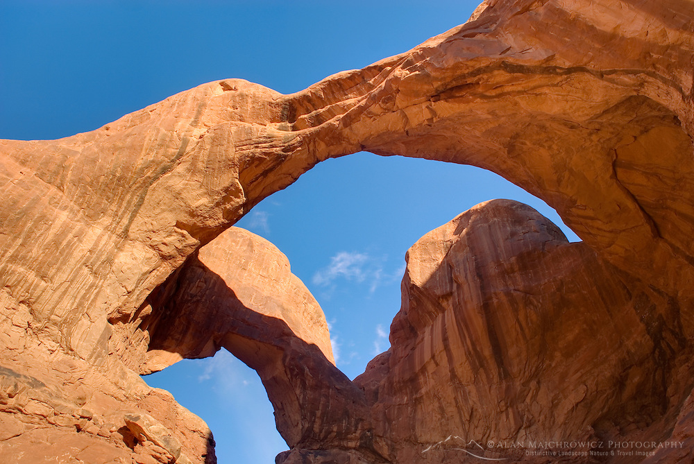 Double Arch, Arches National Park Utah USA