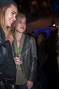 SUKI WOODHOUSE; ; GEORGIA JAGGER;  The Vogue Festival 2012 in association with Vertu- cocktail party. Royal Geographical Society. Kensington Gore. London. SW7. 20 April 2012.