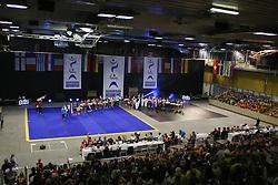 Open ceremony at ECU European Cheerleading Championships 2015 on June 27th 2015, in Hala Tivoli, Ljubljana. Photo by Matic Klansek Velej / Sportida