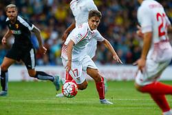 Denis Suarez of Sevilla in action - Mandatory by-line: Jason Brown/JMP - Mobile 07966 386802 31/07/2015 - SPORT - FOOTBALL - Watford, Vicarage Road - Watford v Sevilla - Pre-Season Friendly