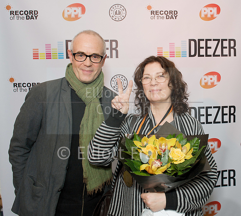 Record of the Day Music Journalism &amp; PR Awards 2012<br /> <br /> <br /> Regine Moylett (PR), Miranda Sawyer (journalism), and Jill Furmanovsky (photography), received Outstanding Contribution awards<br /> <br /> 28th November 2012<br /> <br /> Victorian Vaults, 82 Great Eastern Street, Shoreditch, EC2A 3JF<br /> <br /> Photography by Elliott Franks <br /> Contact <br /> 07802 537 220 <br /> elliott@elliottfranks.com<br /> www.elliottfranks.com