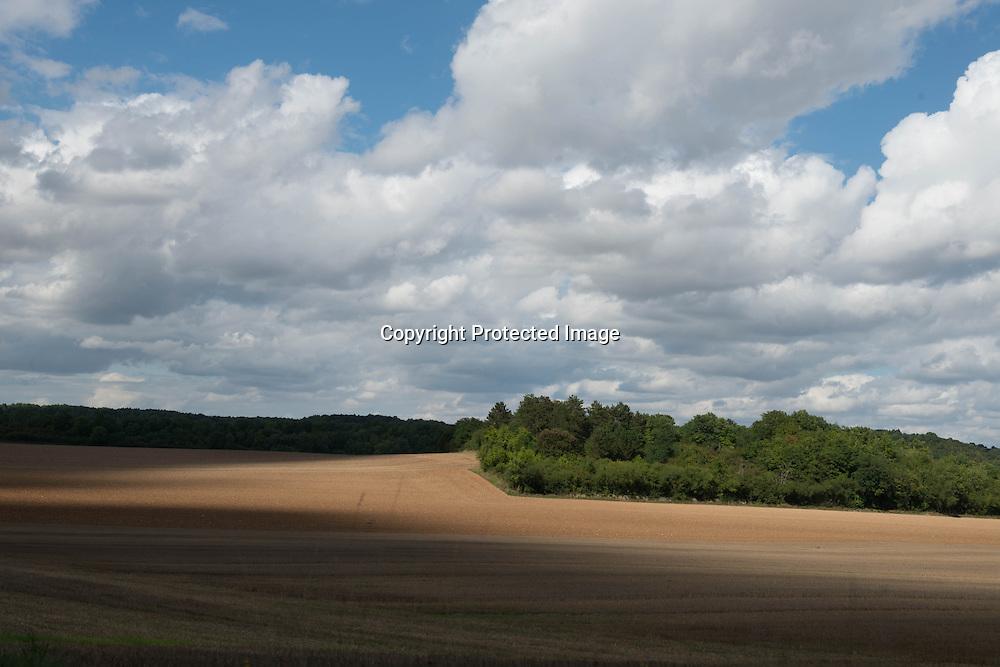 France Burgundy landscape