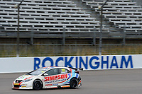 #303 Matt Simpson WIX Racing with Eurotech Honda Civic Type R (FK2) during BTCC Race 1  as part of the Dunlop MSA British Touring Car Championship - Rockingham 2018 at Rockingham, Corby, Northamptonshire, United Kingdom. August 12 2018. World Copyright Peter Taylor/PSP. Copy of publication required for printed pictures.