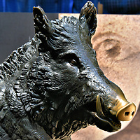 Replica of Il Porcellino Statue in Sydney, Australia<br />