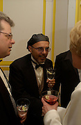 Joey Pantaliano, ( Sopranos) Bloomberg after-party,  Russian mansion, Washington Correspondents dinner, Washington Hilton, 26 April 2003. © Copyright Photograph by Dafydd Jones 66 Stockwell Park Rd. London SW9 0DA Tel 020 7733 0108 www.dafjones.com
