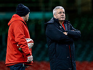 Photographer Simon King/Replay Images<br /> <br /> Six Nations Round 5 - Wales v Ireland Captains Run - Saturday 15th March 2019 - Principality Stadium - Cardiff<br /> <br /> World Copyright © Replay Images . All rights reserved. info@replayimages.co.uk - http://replayimages.co.uk