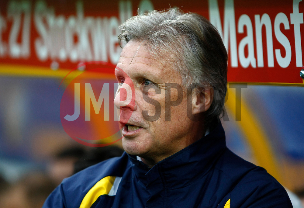 Bristol Rovers Manager, John Ward - Photo mandatory by-line: Matt Bunn/JMP - Tel: Mobile: 07966 386802 12/10/2013 - SPORT - FOOTBALL - Field Mill - Mansfield - Mansfield Town V Bristol Rovers - Sky Bet League 2