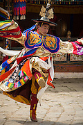 Gasa Tschu festival featuring dance dramas performed by monks and laypeople dressed in colorful costumes, the dancers take on aspects of wrathful and compassionate deities, hero, demons and animals