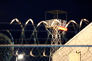 The Tent Prison, a part of the Maricopa County Jail where prisoners are serving time for minor offences and where undocumented are detained until they are expelled from the US. In the often sweltering heat of Arizona, inmates dressed in pink underwear and black and white prison outfit are sleeping outdoors in huge military style tents. The inmates are only served two meals a day, consisting of leftovers from rescued food. The harsh prison conditions was only one of many controversial punitive actions in the sheriff's bid to be tough on crimes. A staunch republican and media savvy, Joe Arpaio was reelected several times before being replaced in 2017 by Sheriff Paul Perzone.