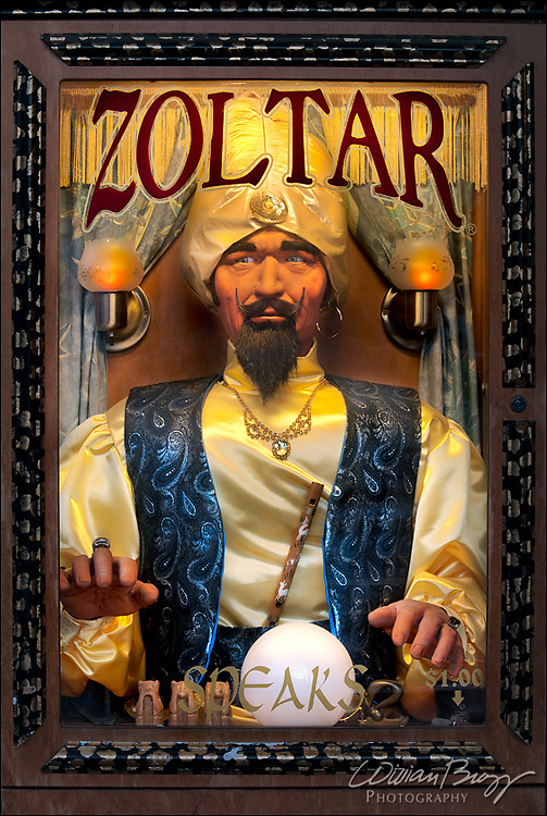 The all seeing and all knowing Zoltar