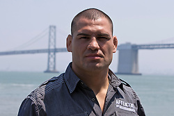 SAN FRANCISCO, CA - JULY 29: Cain Velasquez looks on during a UFC press tour event on July 29, 2013 in San Francisco, California.  (Photo by Jason O. Watson/Zuffa LLC/Zuffa LLC via Getty Images) *** Local Caption *** Cain Velasquez