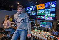 HILVERSUM  - Robert-Jan Derksen, 5 jaar geleden gestopt als touring pro golfer, nu o.a.  commentator bij Ziggo Sport. KOEN SUYK